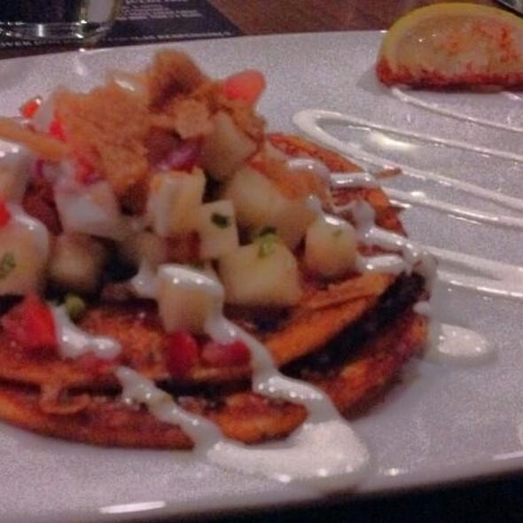 Smoked Duck Confit Enchiladas @ Row 14 Bistro & Wine Bar