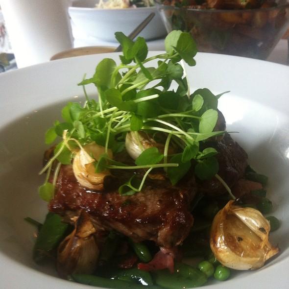 steak and veggies @ Café Hekla Christianhavns Bistro