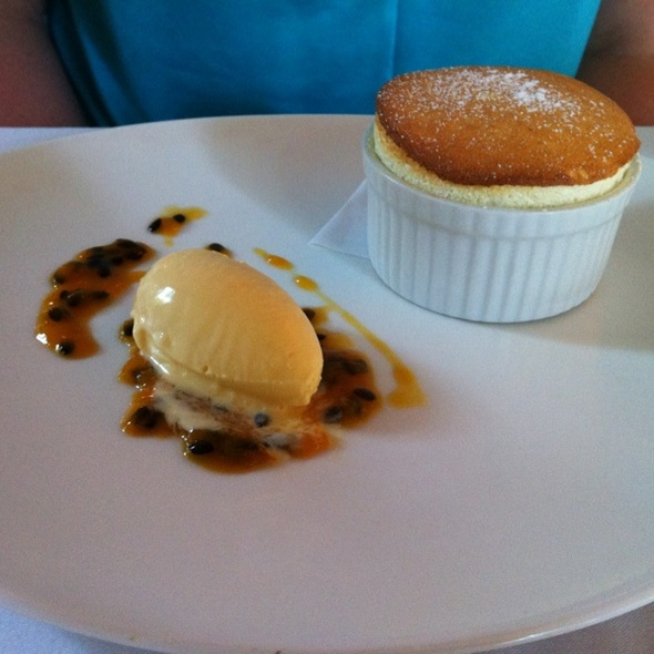 Passion Fruit Souffle @ Restaurant Two