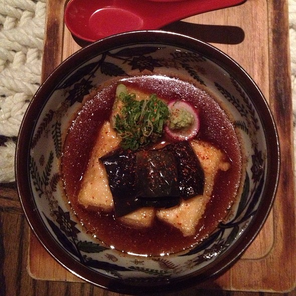 Tofu And Nasu Agedashi