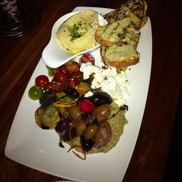 Hummus Plate and Artisan Board - Whisper Restaurant & Lounge, Los Angeles, CA