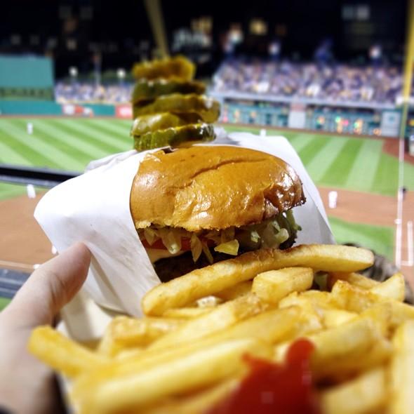 Turkey Burger @ PNC Park
