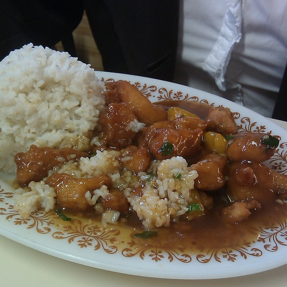 Orange Chicken @ Chinese Home Style Cooking
