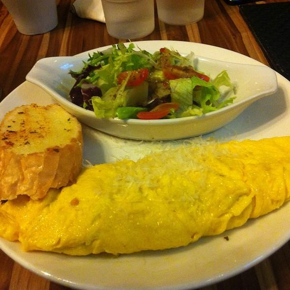 vegetable omelet @ Mini Diner米尼美式餐廳