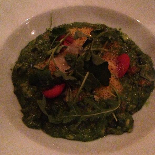 Arugula And Zucchini Risotto