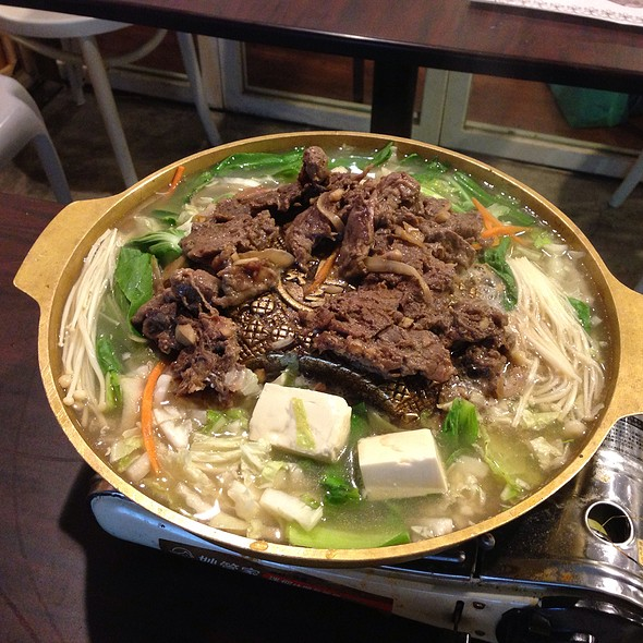Korean Hot Pot With Beef