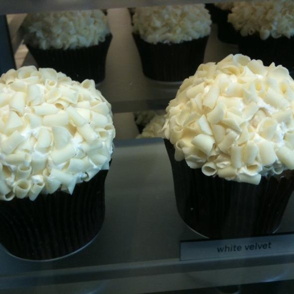 White Velvet Cupcake @ More
