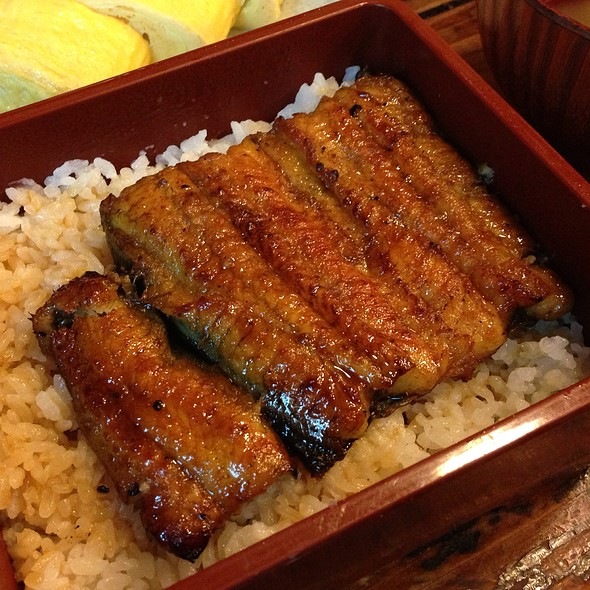 Grilled Eel With Rice @ 肥前屋