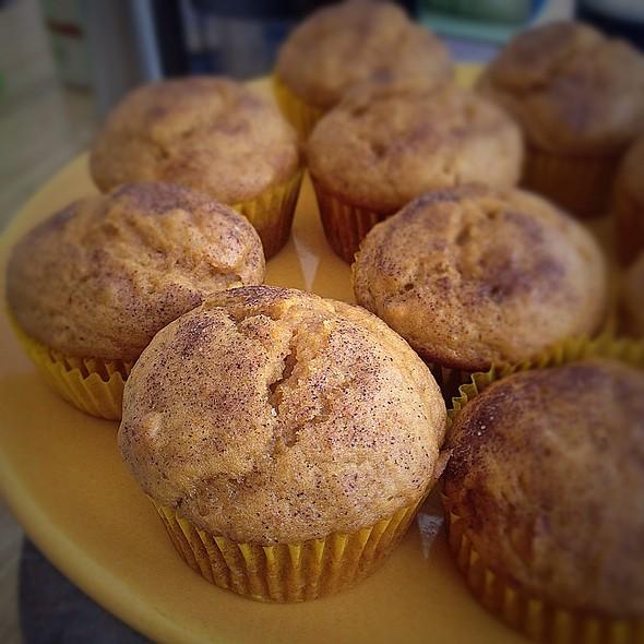 Pumpkin Muffins @ Home