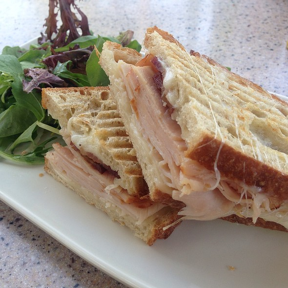 Turkey Bacon Panini @ La Brea Bakery