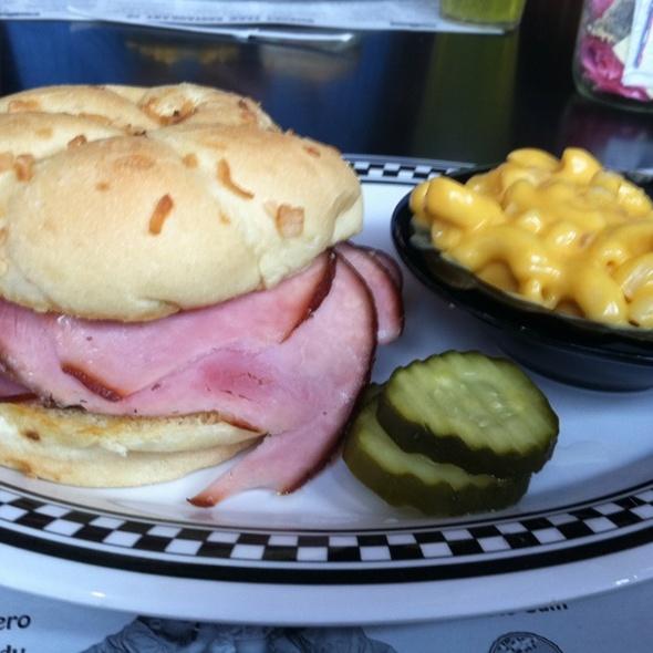 Smoked Ham Sandwich @ Hickory Park Restaurant Co