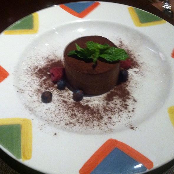Dark Chocolate Mousse - Osteria 177, Annapolis, MD