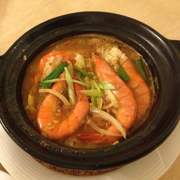 Shrimps Hot Pot @ 有啥吃啥