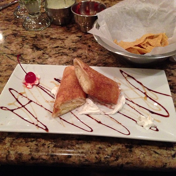 Cheesecake Burrito