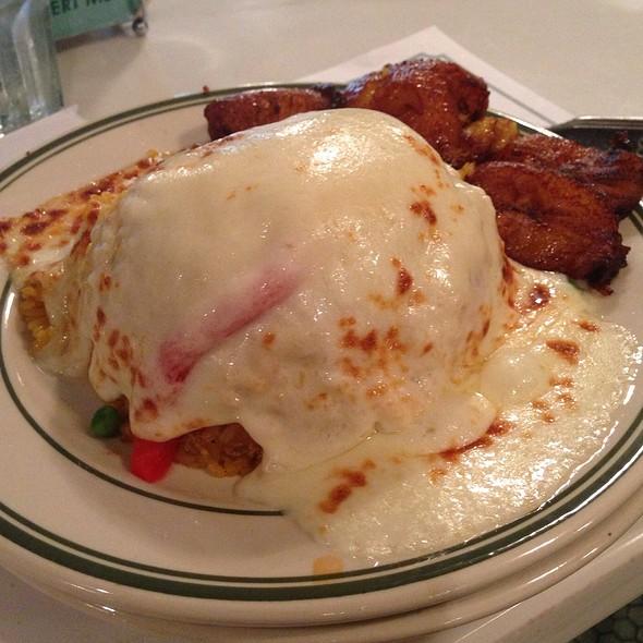 Arroz con Pollo (Chicken)  @ Versailles Restaurant