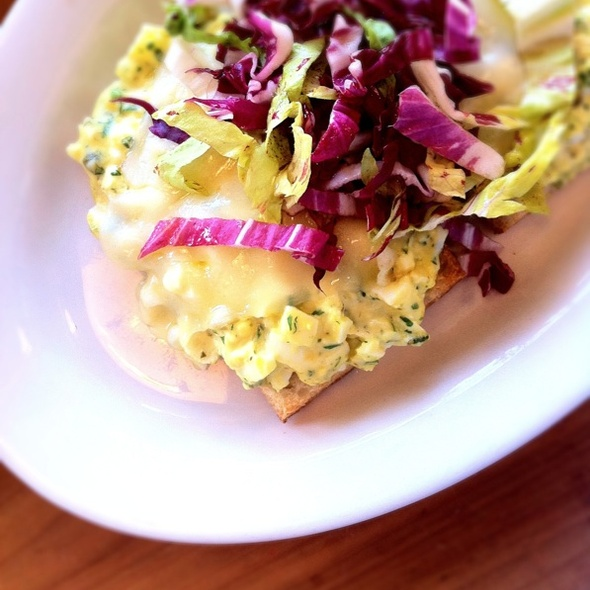 Warm Egg Salad Sandwich @ Il Cane Russo