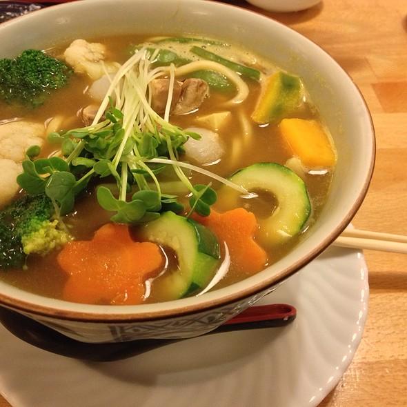 Vege-Tofu Curry Udon @ Cha-Ya Vegetarian Japanese Restaurant