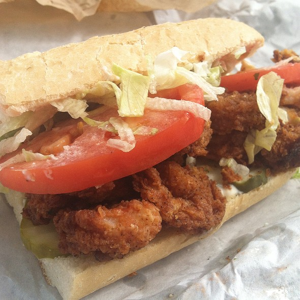 Shrimp Po'boy