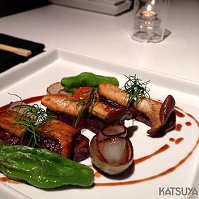 Foie Gras W/ Kobe Beef And Trumpet Mushroom