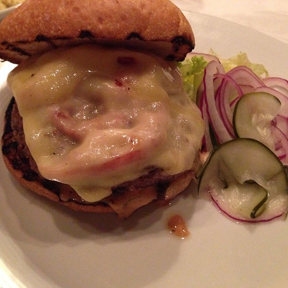 Lamb Burger - Postmark, Cincinnati, OH