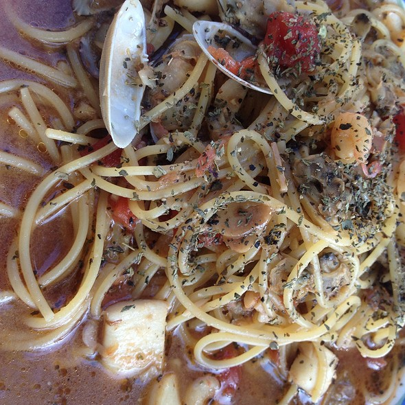Seafood Spaghetti @ Partita
