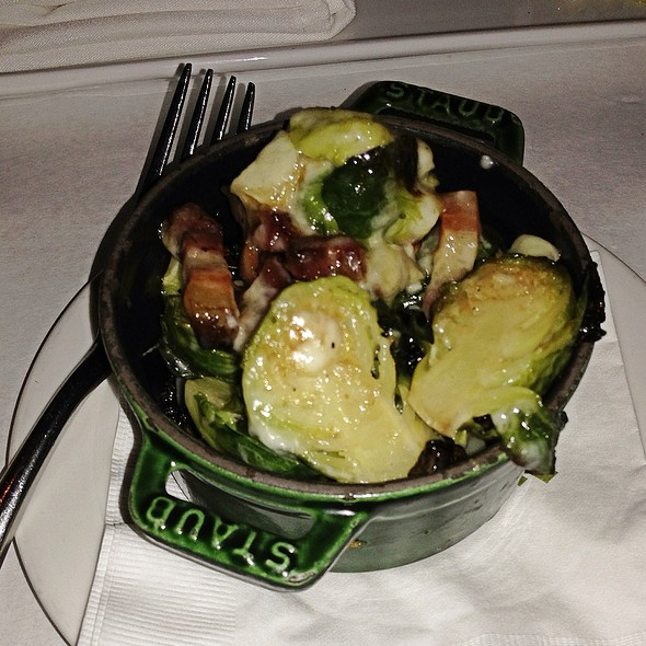 Brussel Sprouts, Brie, & Smoked Pork Belly