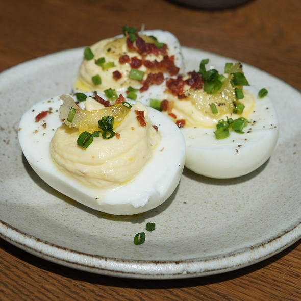Deviled Eggs @ King + Duke