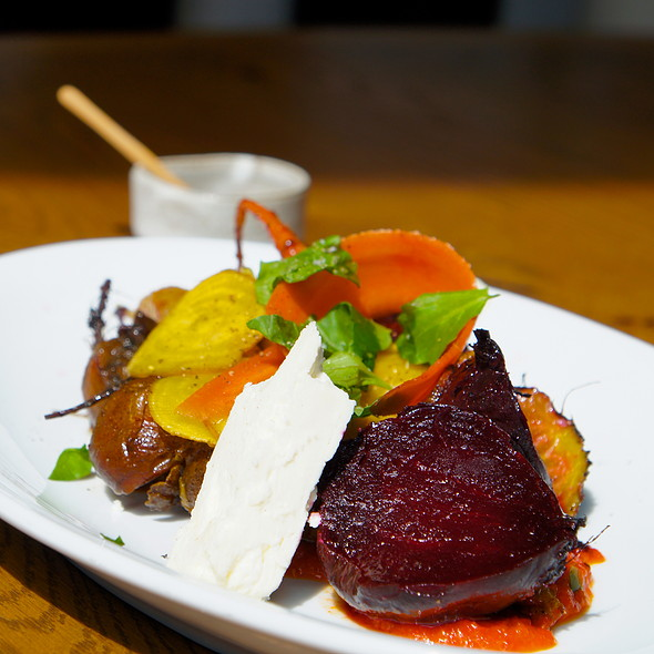Roasted Beets And Carrots @ King + Duke