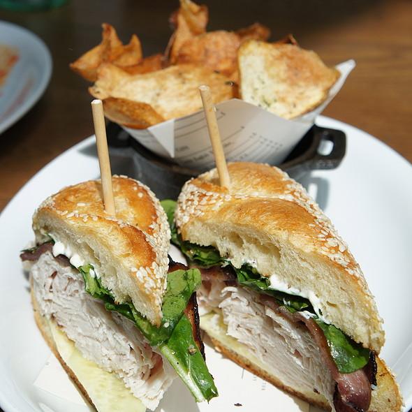 House Roasted Turkey Sandwich @ King + Duke
