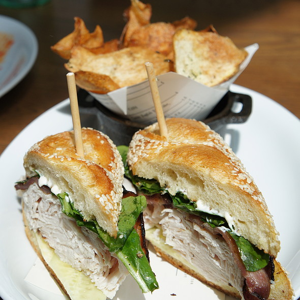 House Roasted Turkey Sandwich @ King + Duke