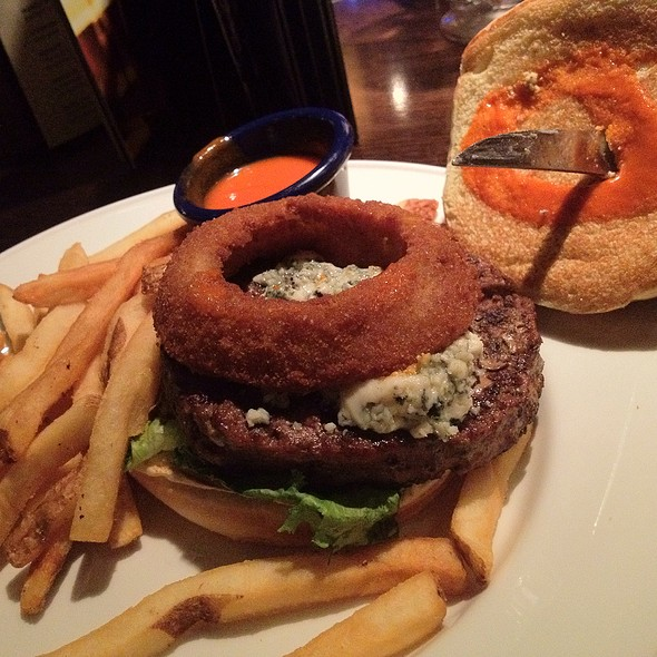 Red White And Blue Burger Hard Rock Cafe