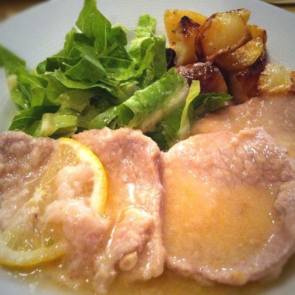 Veal In Lemon Sauce @ Fattoincasa