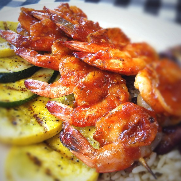 BBQ Shrimp @ Flying Fish