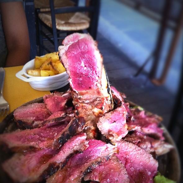 Florentine Steak @ Il Francescano