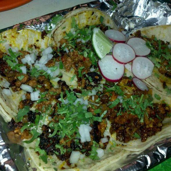 Tacos @ Tacos Mariana's