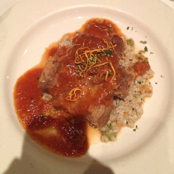 Osso Bucco Di Maiale, Pork Shank With Barley Risotto - Lidia's Pittsburgh, Pittsburgh, PA