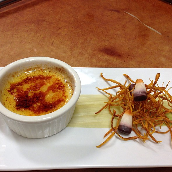 Sweet Corn Creme Brûlée With Sweet Potato Pomme Frites - The View at Morgan Hill, Easton, PA