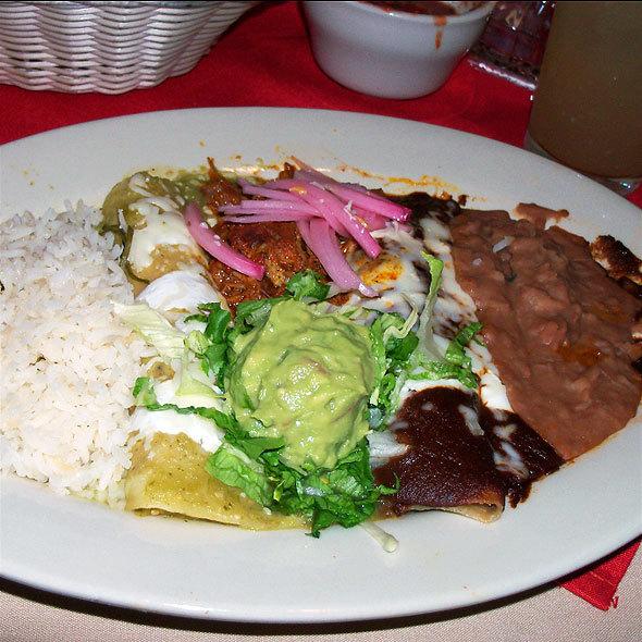 enchiladas - Las Palomas Restaurant-Bar, Austin, TX