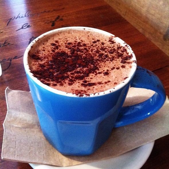 Maple Hot Chocolate at Cafe in CDN