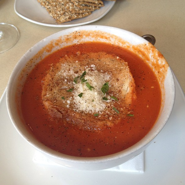 Rustic Tomato Soup - Sanfords Restaurant, Astoria, NY