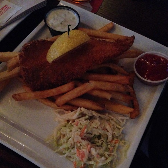Halibut and Chips @ Buck & Ear Bar & Grill The