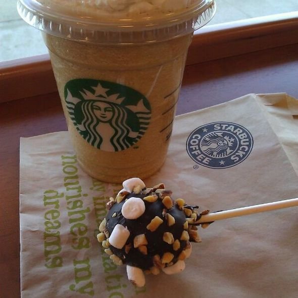 Rocky Road Cake Pop @ Starbucks