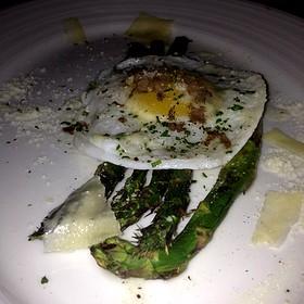Asparagus And Quail Egg