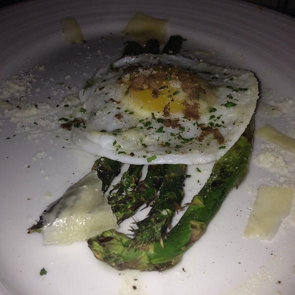 Asparagus And Quail Egg - Armani's, Tampa, FL