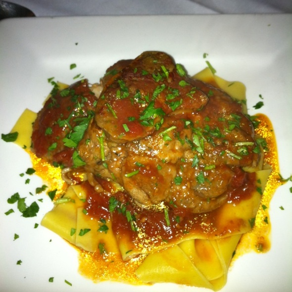Veal Osso Bucco - Enzo & Angela The Italian Restaurant, Los Angeles, CA