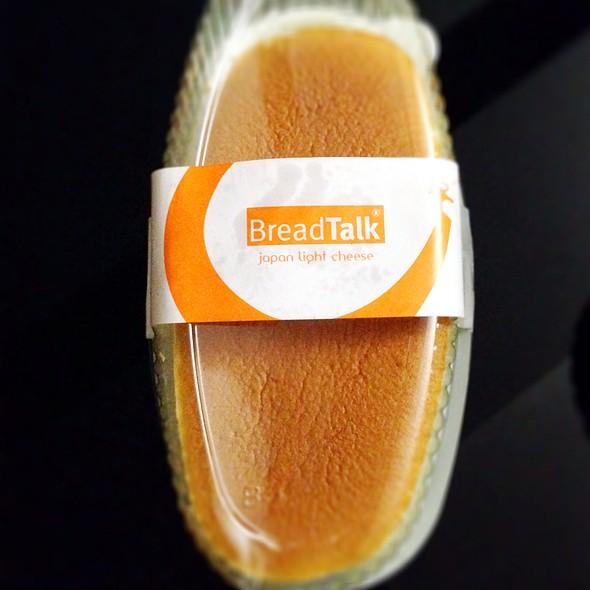 Japanese Light Cheesecake @ Bread Talk