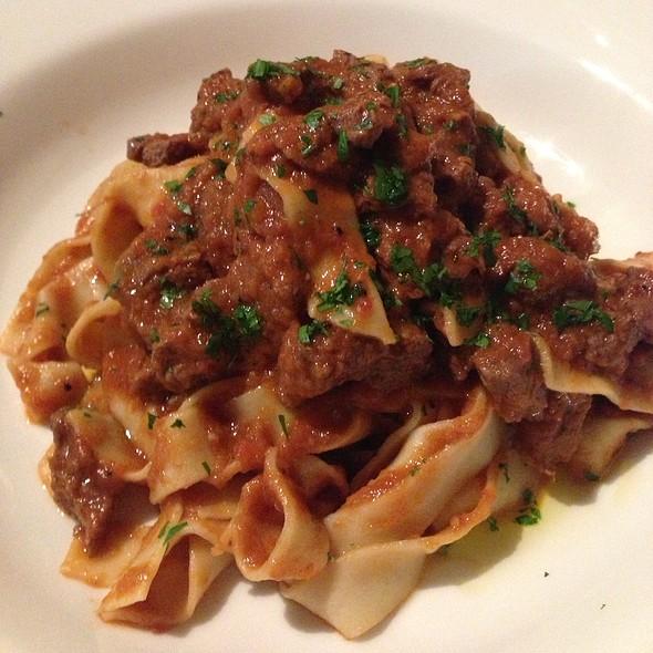 Fettucinni Bolognes @ Zia's Restorante