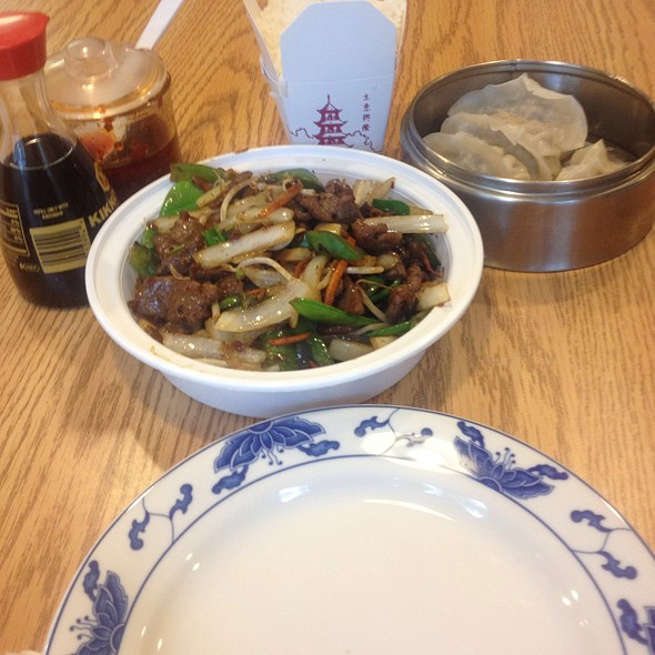 Mongolian Beef And Pork Dumpling