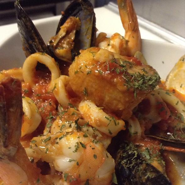 Seafood Arrabbiata Over Spaghettini @ Monticello At Red Bank