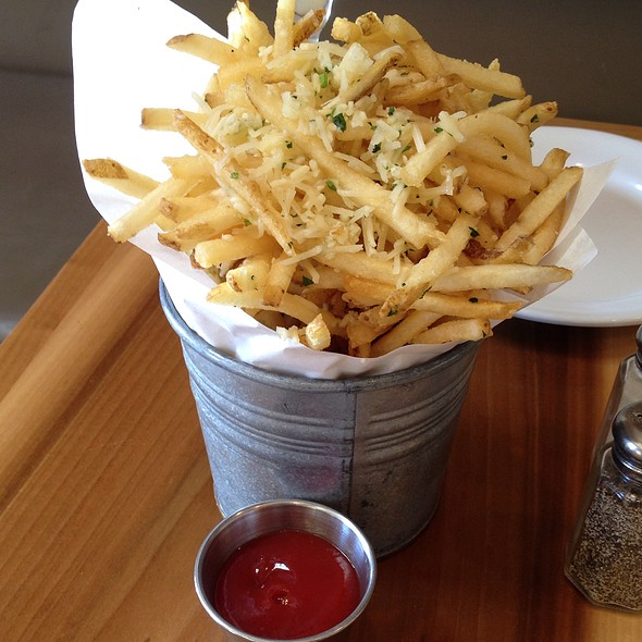 Truffle & Parmasan Fries @ Eat Chow